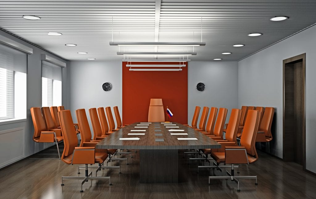 Office and commercial Cleaning - Image of Meeting room