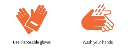 DIY Disinfecting During the Coronavirus - Use glow and wash hand