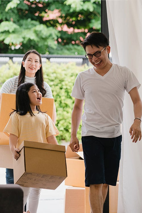 Orange-Cleaning - Family-move-in-a-new-house-cleaning